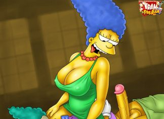 Marge and Krusty