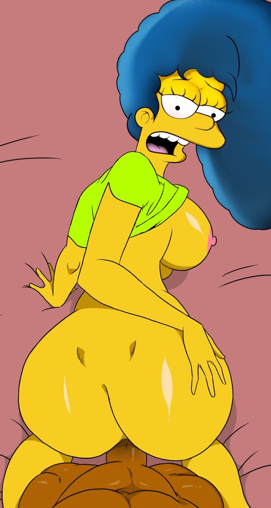 Marge simpson big breasts that interfere