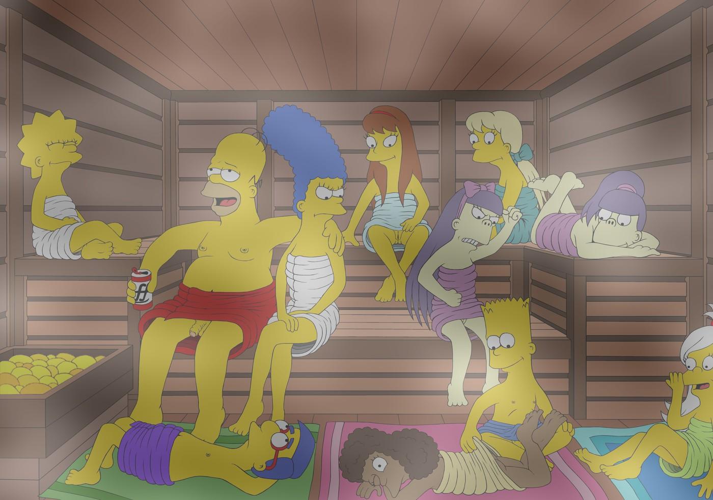 Simpsons nackt lisa und Lisa Simpson