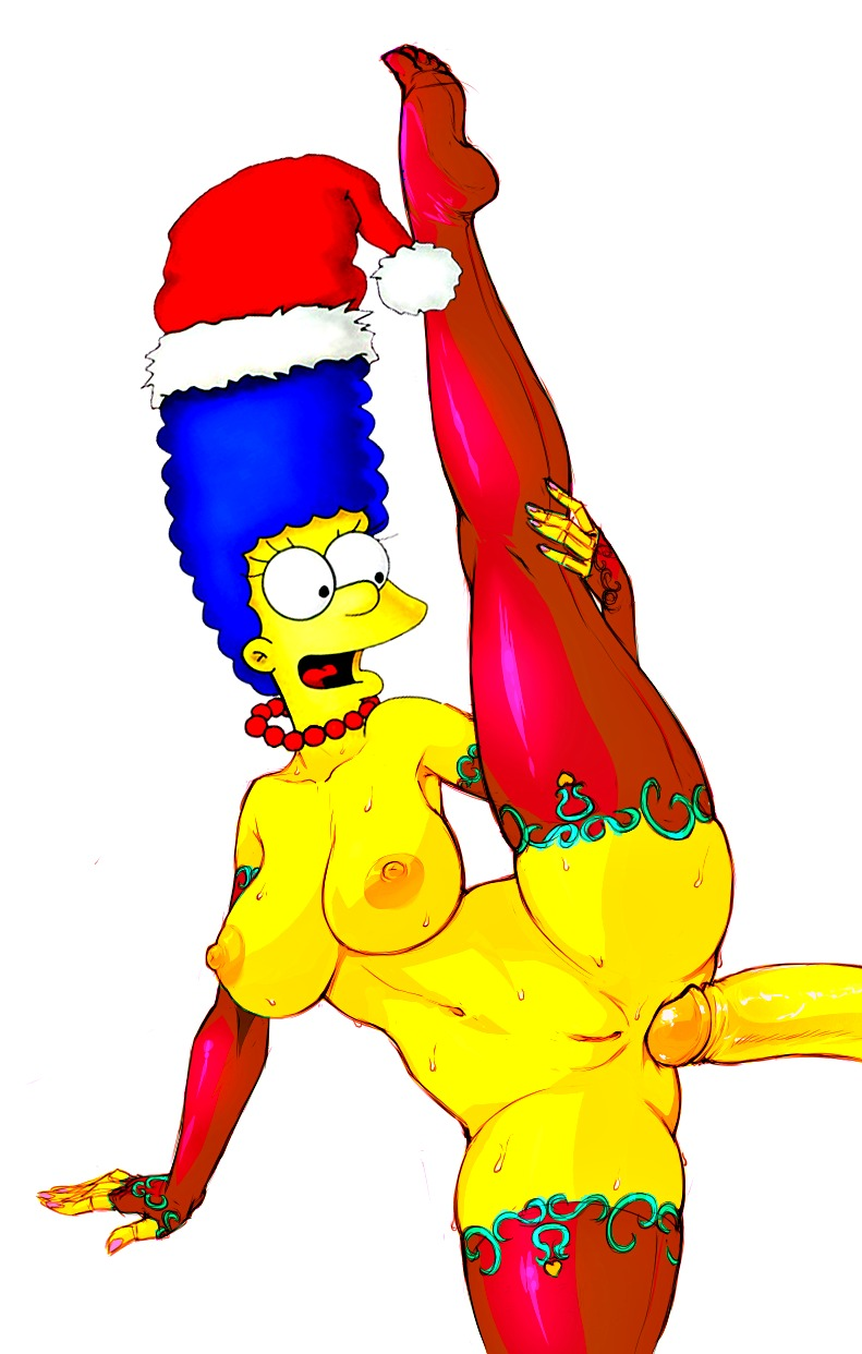 Something is. marge simpson fucked anal not present