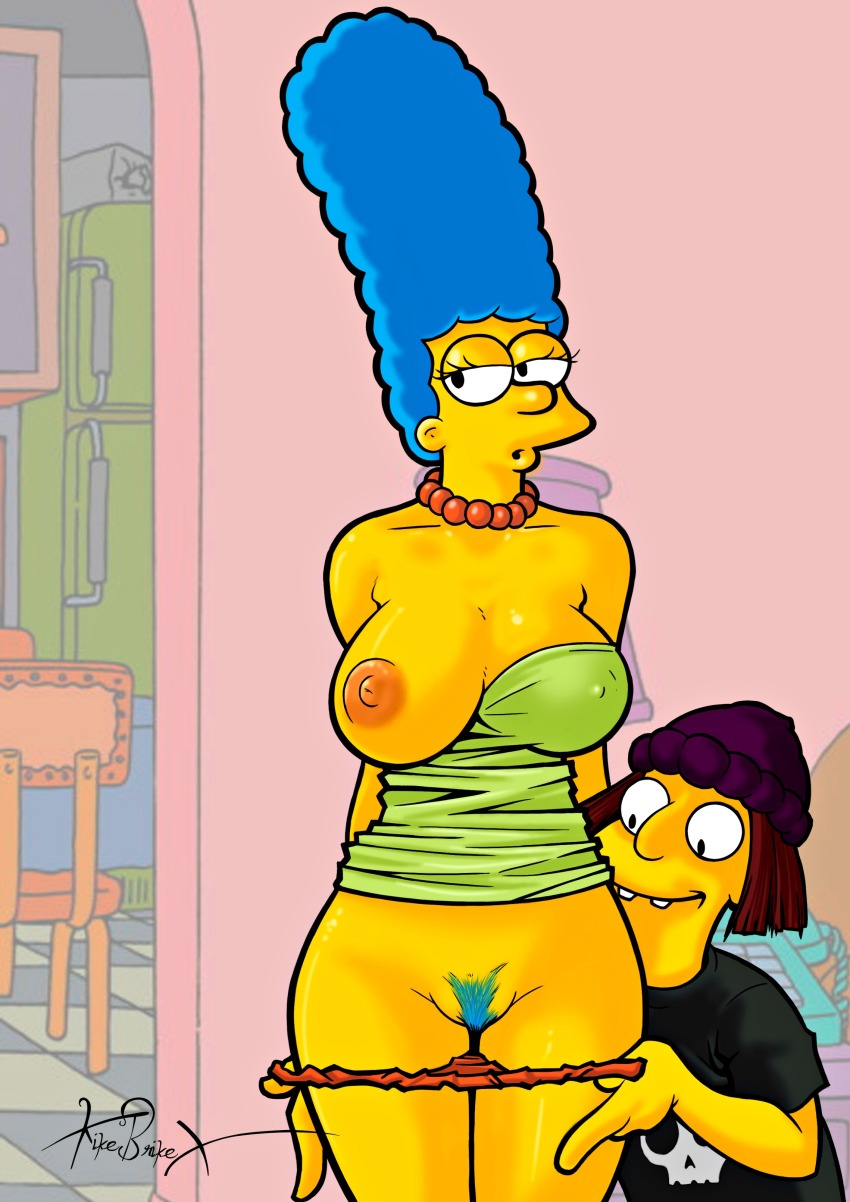from Mathew nude marge simpsons pussy
