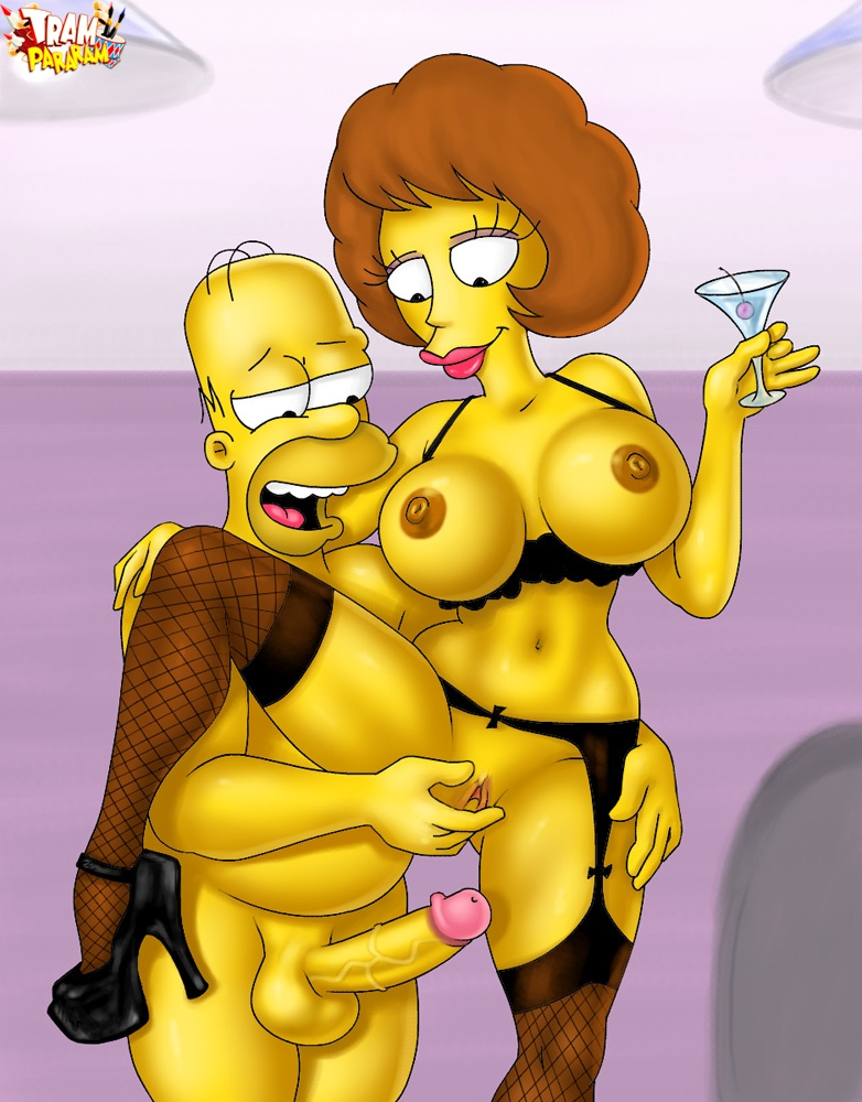 Marge homer blow job