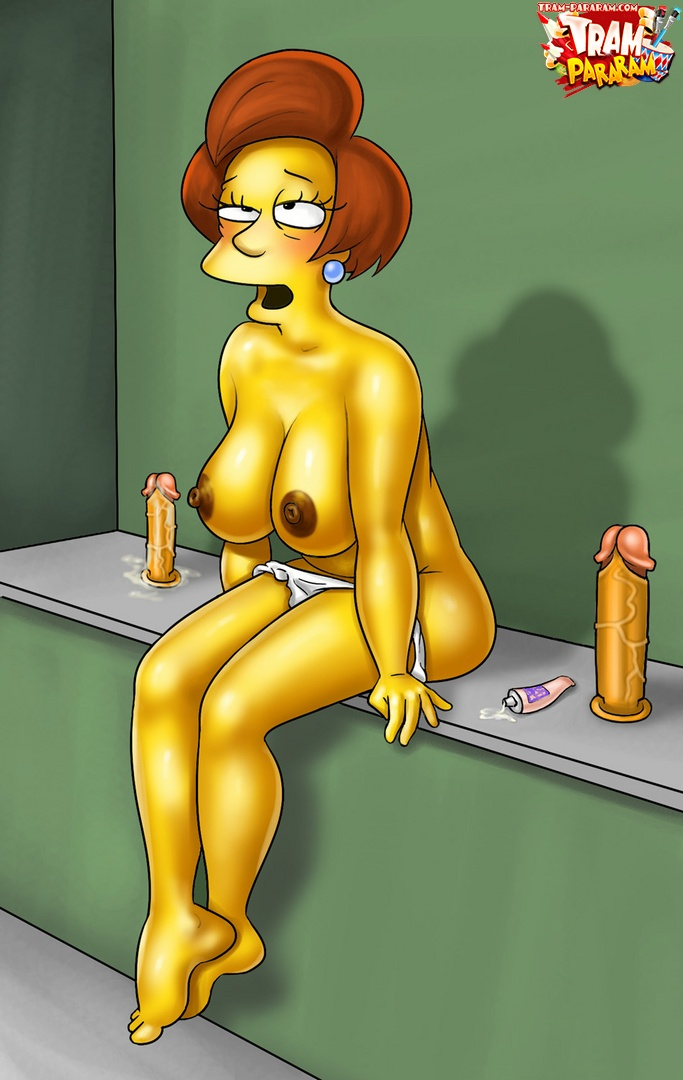 Sexy teacher from simpsons porn — pic 8