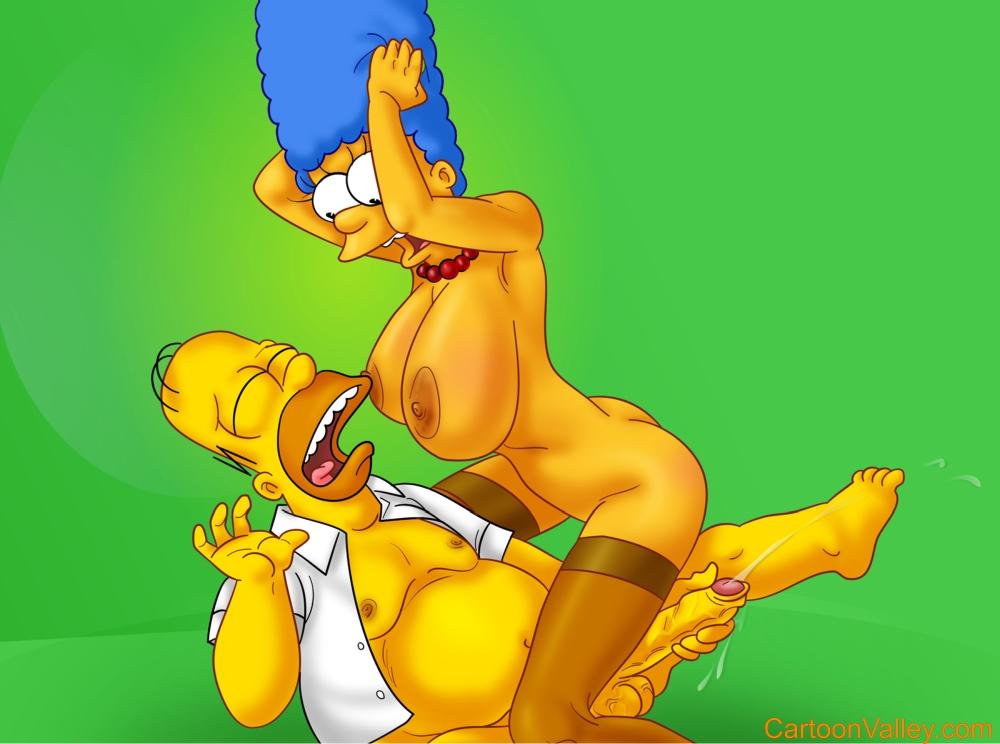 Игра барни мардж порно ебёт симпсон голую