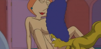 Lois griffin and marge simpson porn really