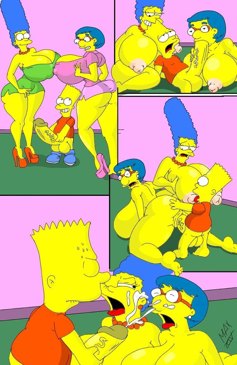 Cum inside simpsons bart lisa marge sex story