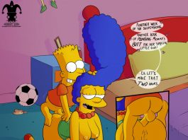 Lisa and bart simpson sex game