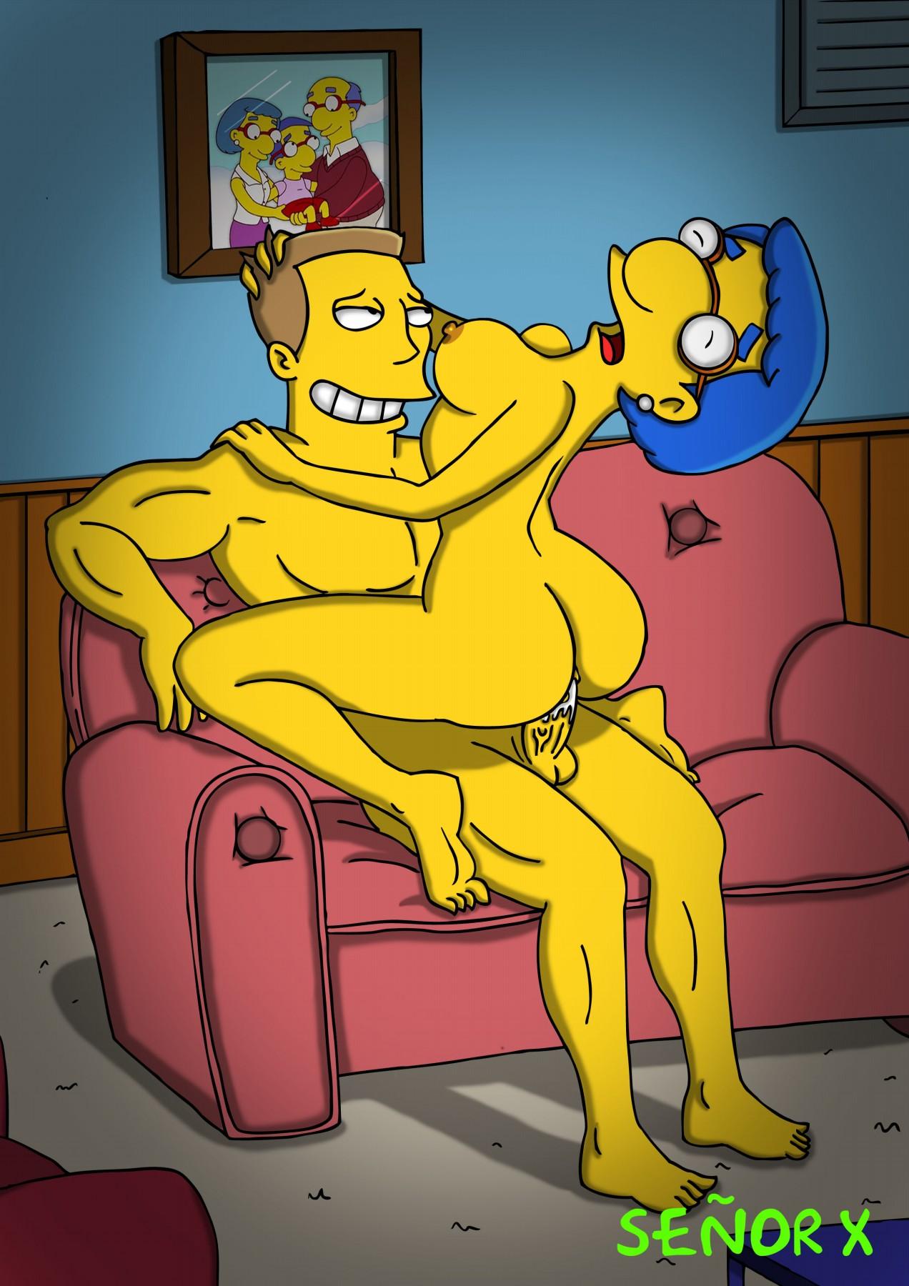 Van naked Milhouse Houten