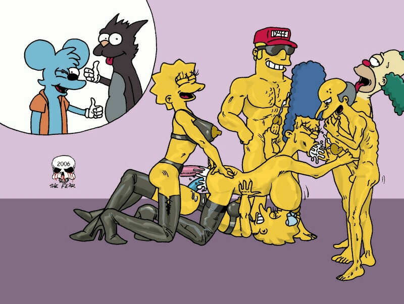 simpsons the Mr marge porn burns